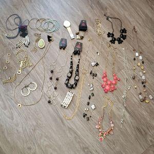 Huge Jewelry Bundle Paparazzi Necklace Earrings